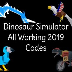 Dinosaur Simulator - All Working Codes 2019