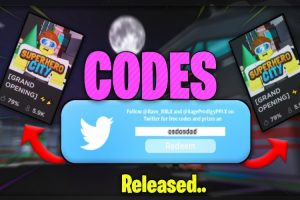 superhero city roblox codes