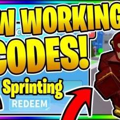 *all* New Secret Op Working Codes! Roblox ⚡ Sprinting Heroes! 💪