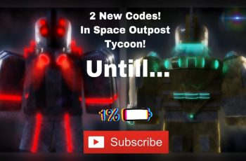 Roblox - 2 New Amazing Codes For Space Outpost Tycoon!