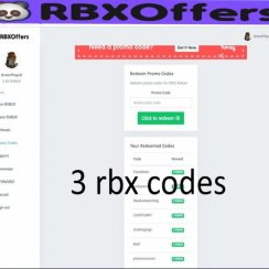 The Rbxoffers Codes