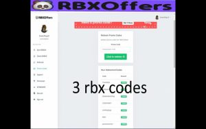 RBXOffers Codes