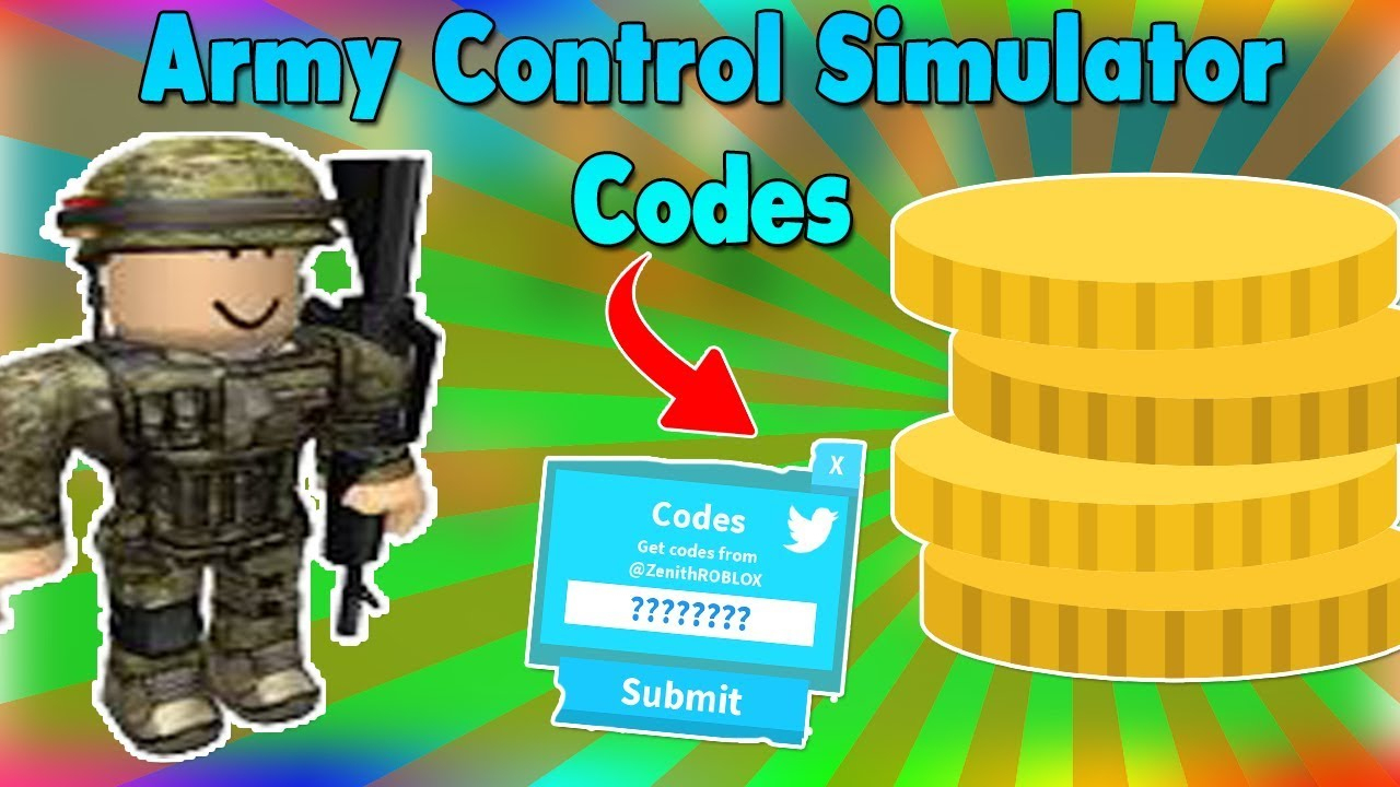 *new Codes* Gold Codes For Army Control Simulator Roblox