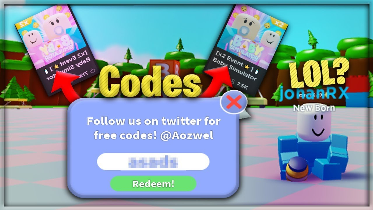 All Latest..🍼baby Simulator Codes! (Roblox)