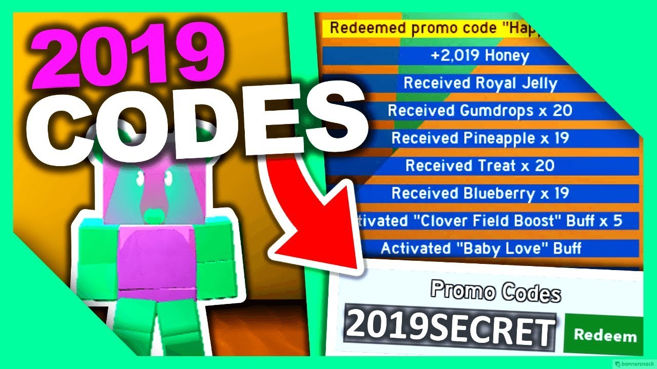 All *2019 Codes* For Bee Swarm Simulator!!!