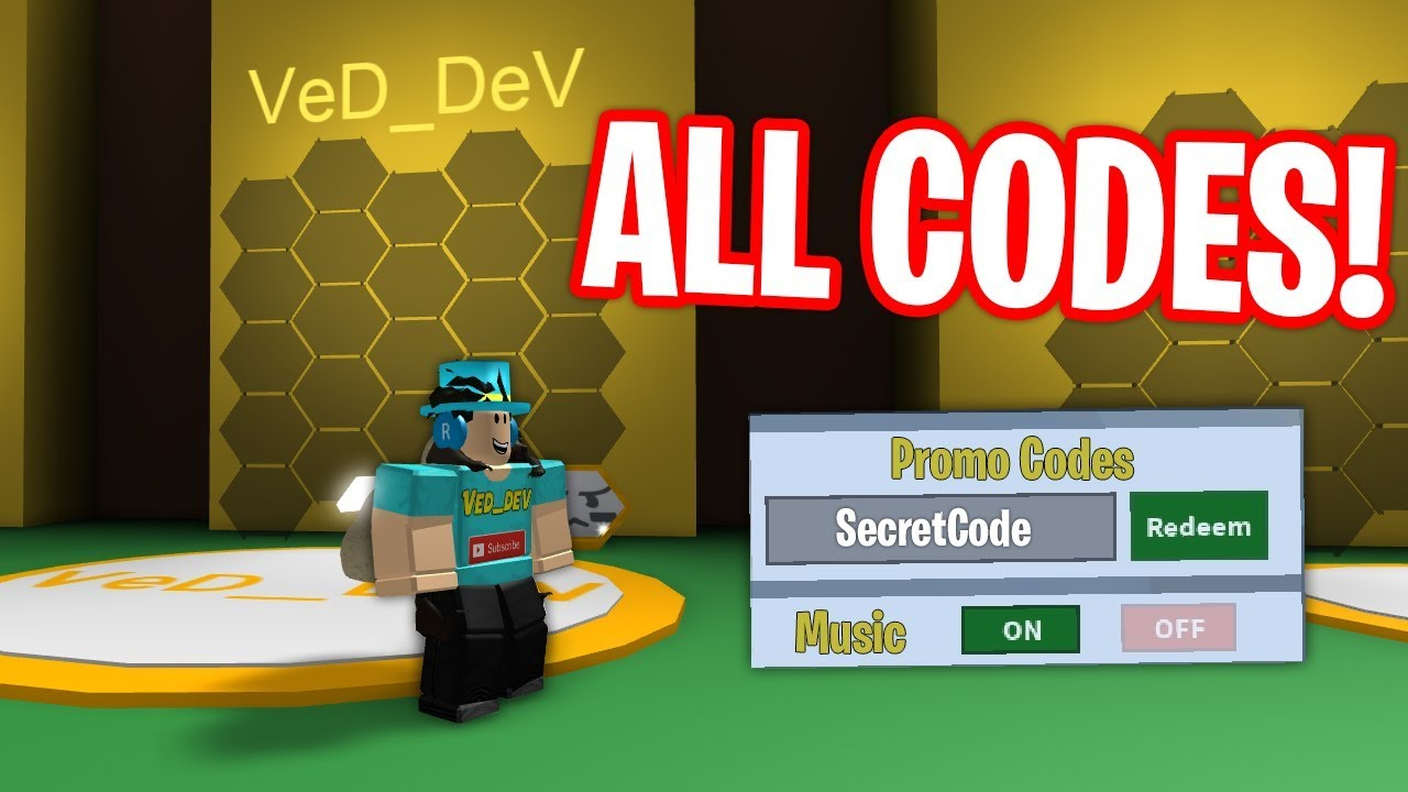 All Codes In Bee Swarm Simulator! (2018)