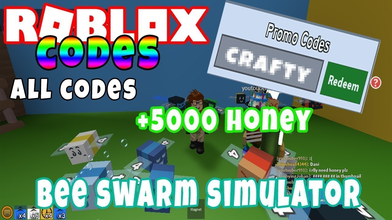 Bee Swarm Simulator Promo Codes 2019 | Roblox