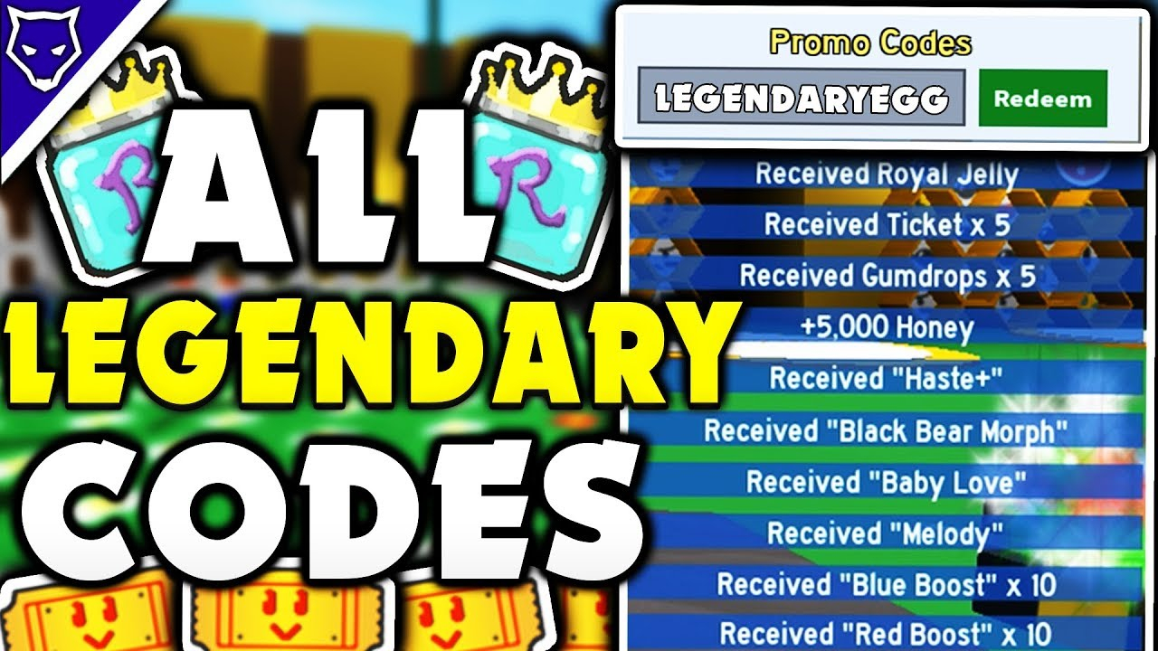 (New) All Bee Swarm Simulator Legendary Codes! - Roblox Bee Swarm Simulator