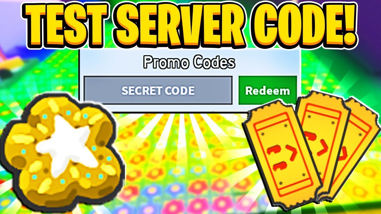 Use This Test Server Code Now While You Can! In Roblox Bee Swarm Simulator