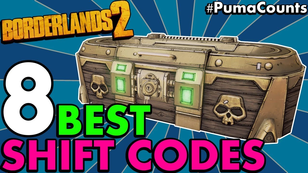 8 Best Golden Key And Shift Codes For Borderlands 2 That Still Work 2019  (Never Expire) #pumacounts