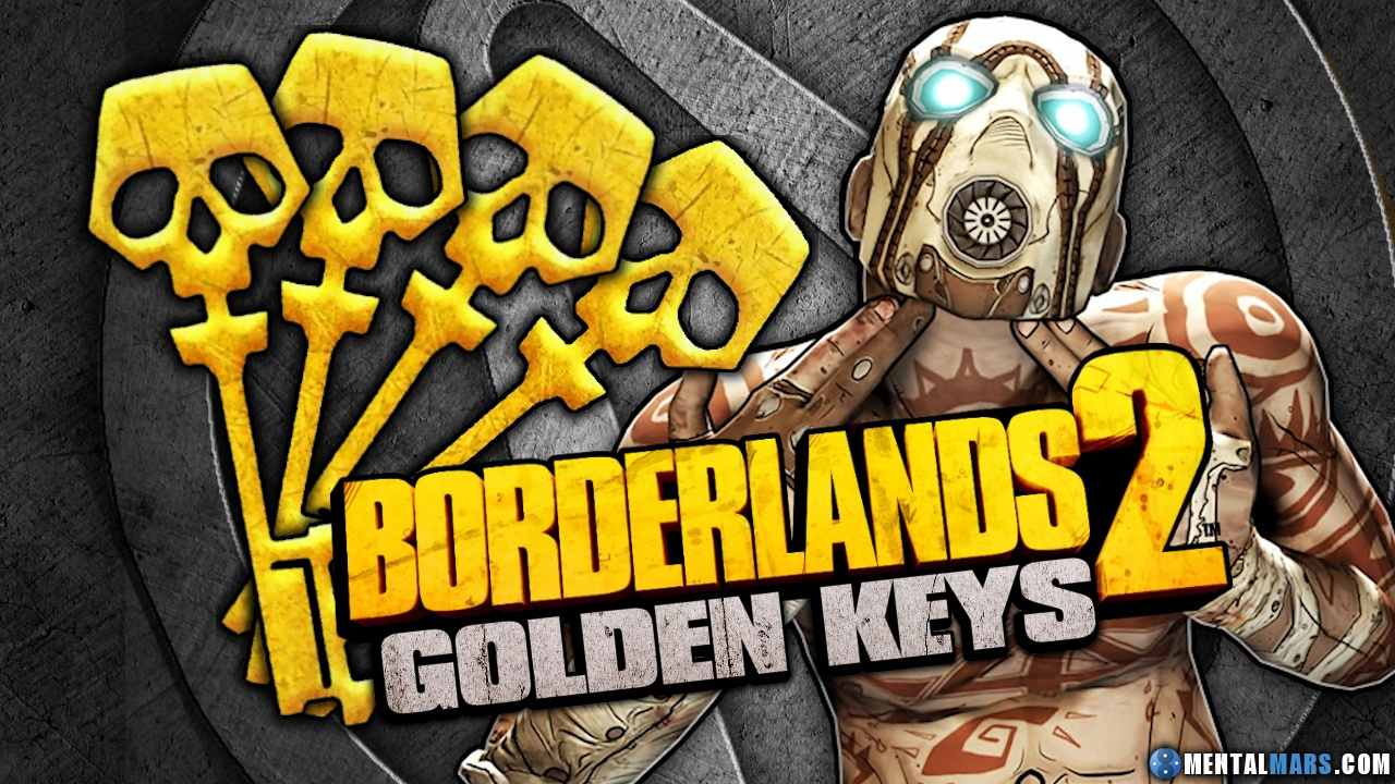 New Shift Codes For Borderlands 2 For Golden Keys » Mentalmars