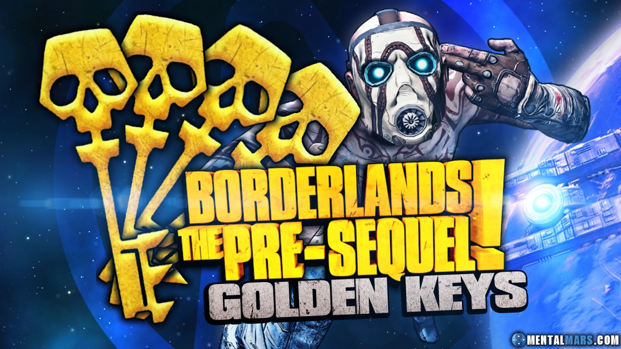 New Shift Codes For Borderlands The Pre-Sequel For Golden