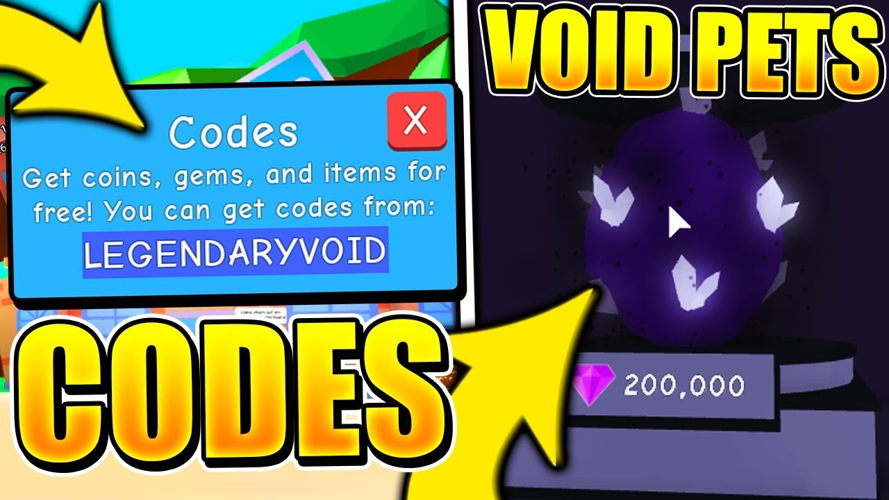 5 Secret Void Eggs Update Codes In Bubble Gum Simulator! (Roblox)