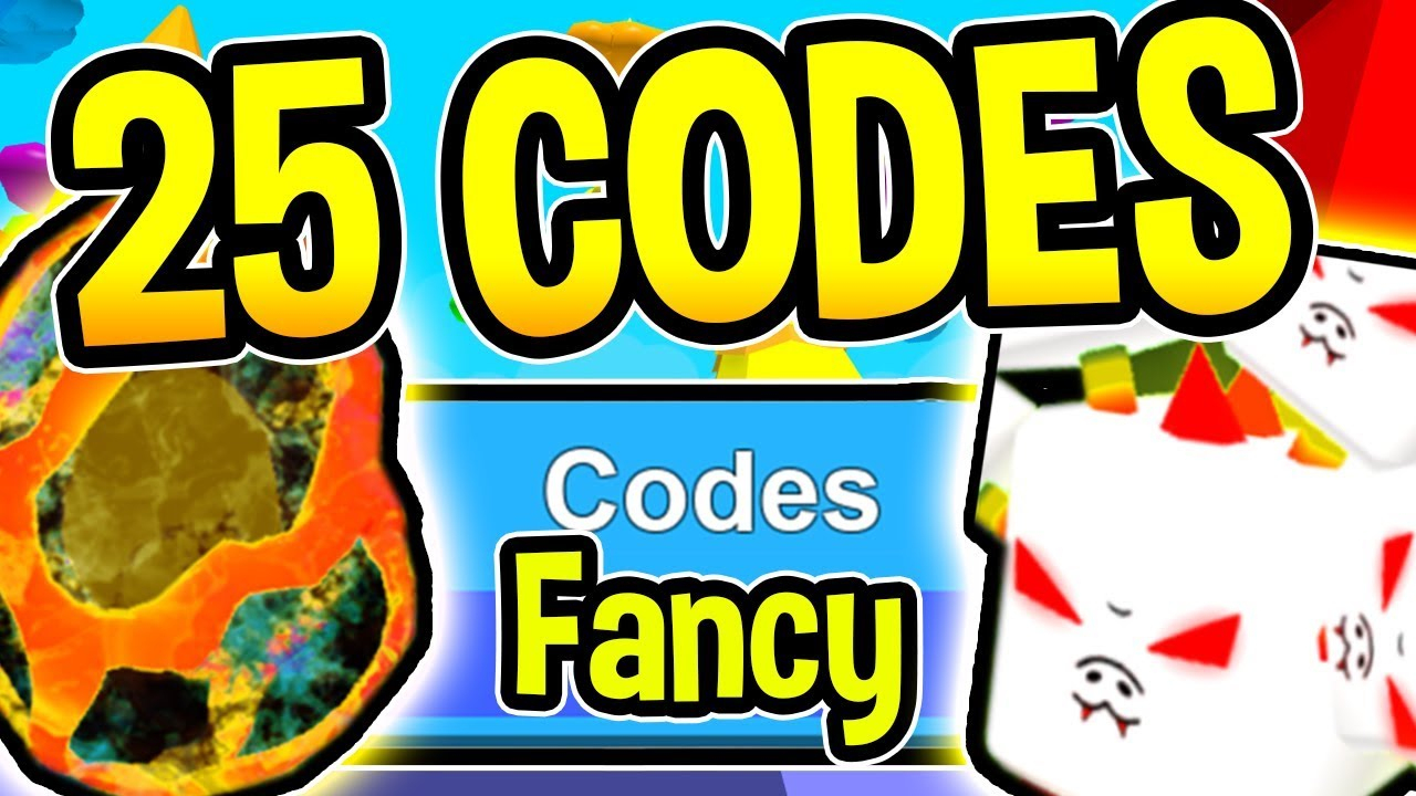 All 25 New Bubble Gum Simulator Codes - New Fancy Update 30/ Roblox