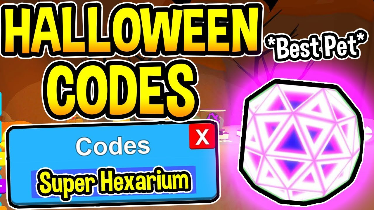 All 7 New Bubble Gum Simulator Codes - Halloween Event Update | Roblox