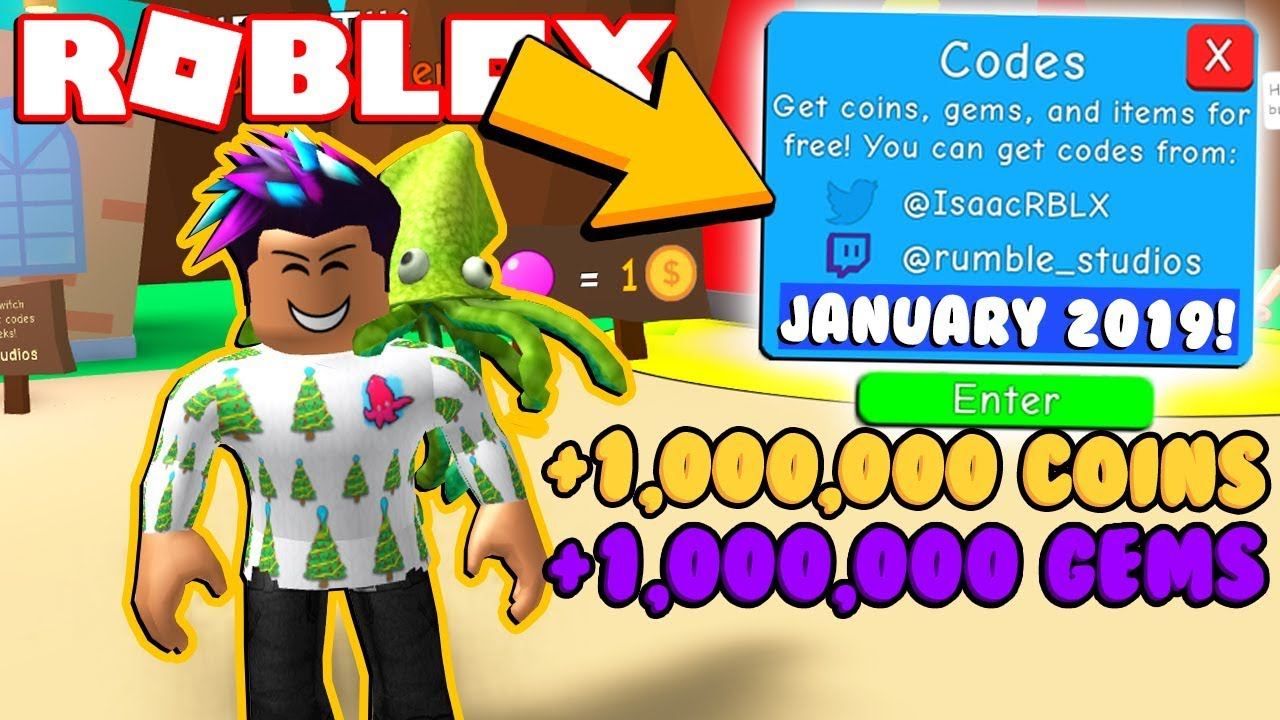 All *new* Codes For Bubble Gum Simulator! (January 2019)