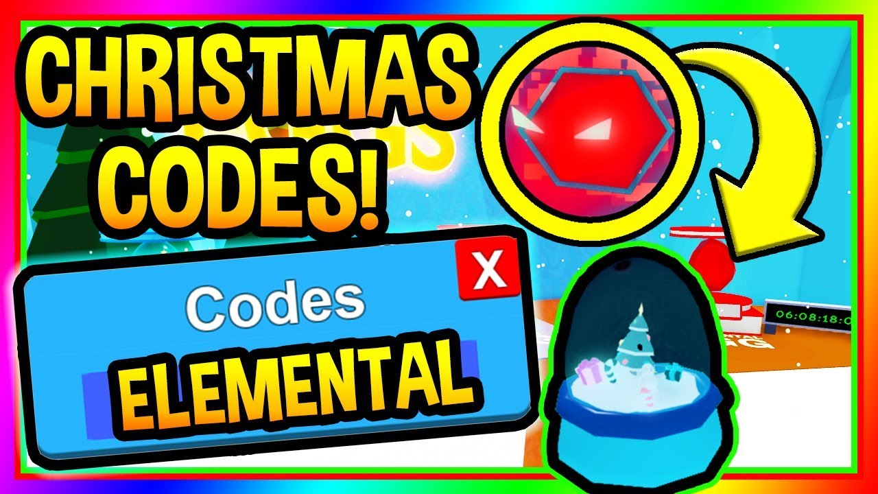 Bubble Gum Simulator Codes Roblox (Christmas Update)