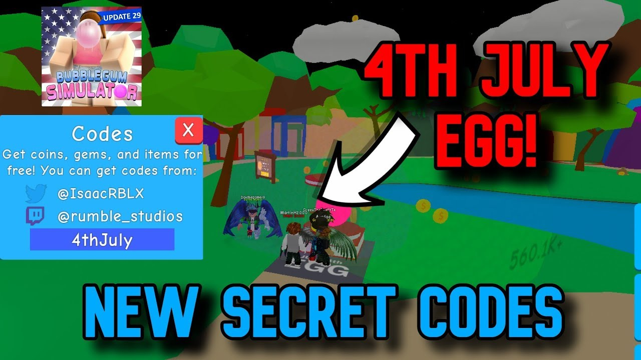 New *op* Codes (✨November  4Th✨ Update) Roblox Bubblegum Simulator