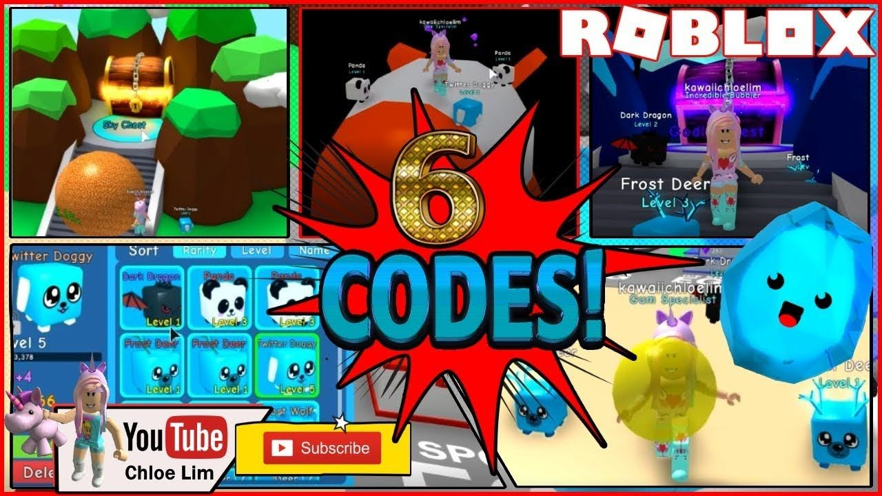 Roblox Bubble Gum Simulator! 6 Codes! First Time Playing