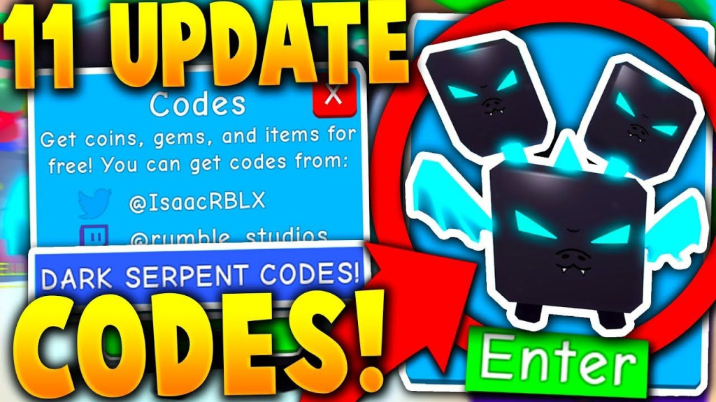 11 Secret New Legendary Serpent Update Codes In Bubble Gum Simulator - Bubble Gum Simulator Codes To Get Legendary Pets