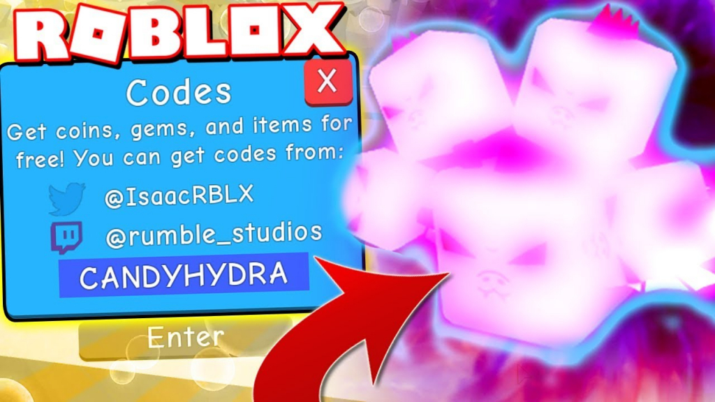 6 Legendary Candy Winged Hydra Codes In Bubble Gum Simulator! (Roblox) - Roblox Bubble Gum Simulator Candy Codes