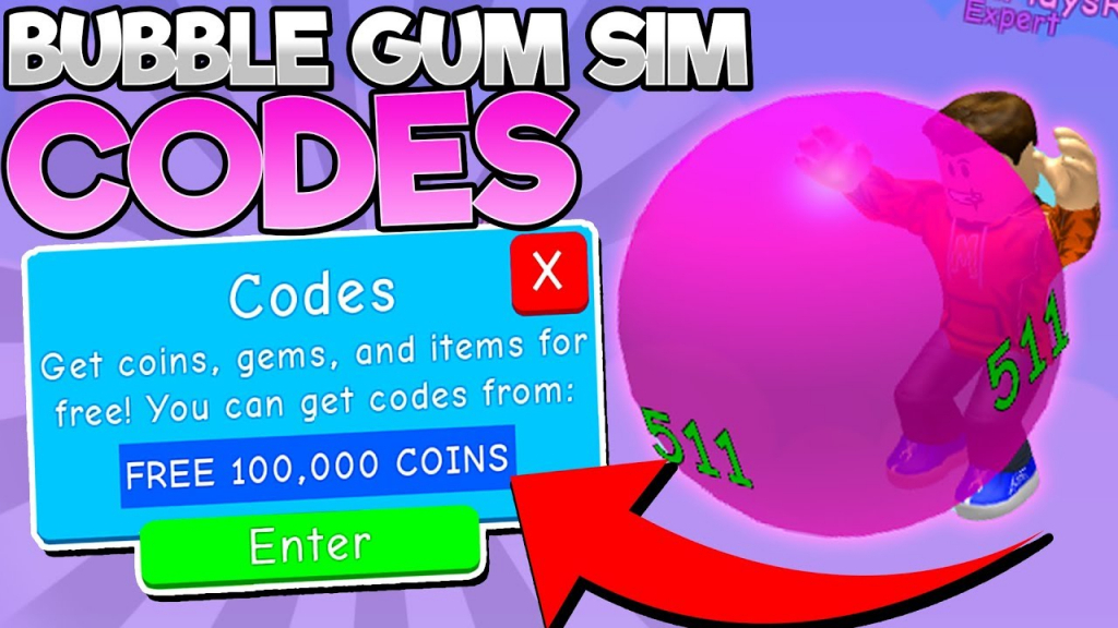 All *working* Codes In Bubble Gum Simulator! (Roblox) - Youtube - Codes For Bubble Gum Simulator Roblox Wiki