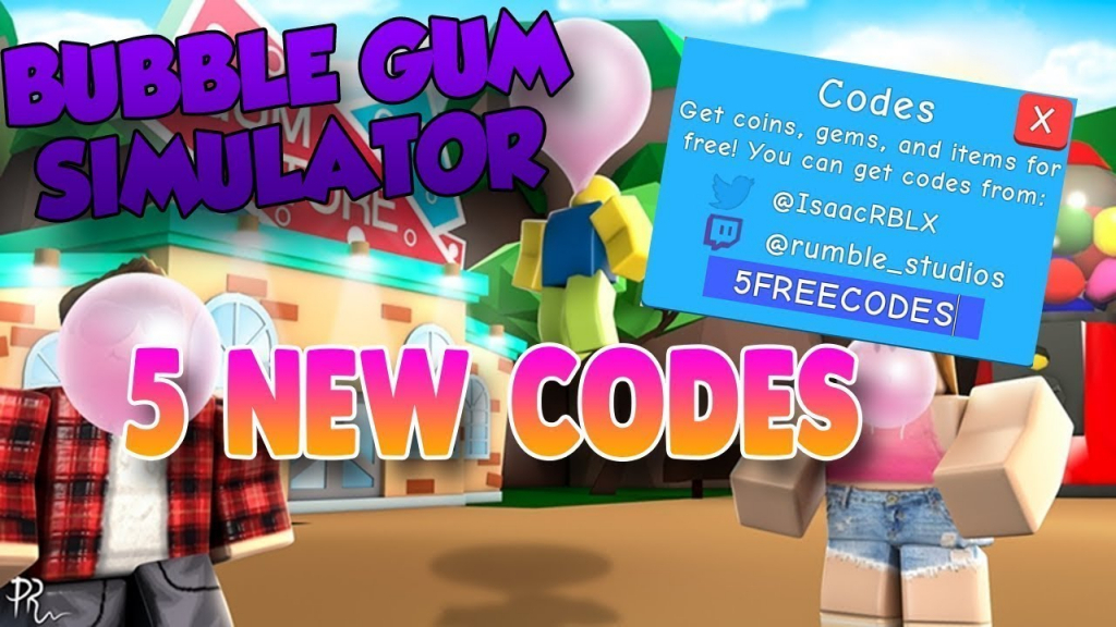Bubble Gum Simulator All 5 New Codes | Gems And Coins (Roblox) - Youtube - Gem Codes For Bubble Gum Simulator