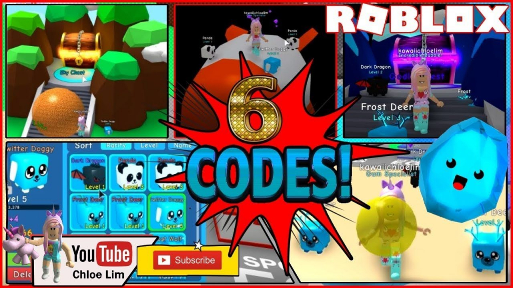 Roblox Bubble Gum Simulator! 6 Codes! First Time Playing & Almost - Roblox Bubble Gum Simulator Candy Codes
