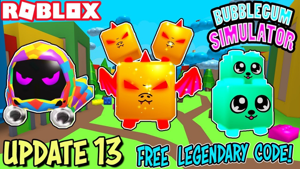 Toy Serpent* Legendary Pet Code, New Land, Eggs & Currency - New Codes For Bubble Gum Simulator Update 13