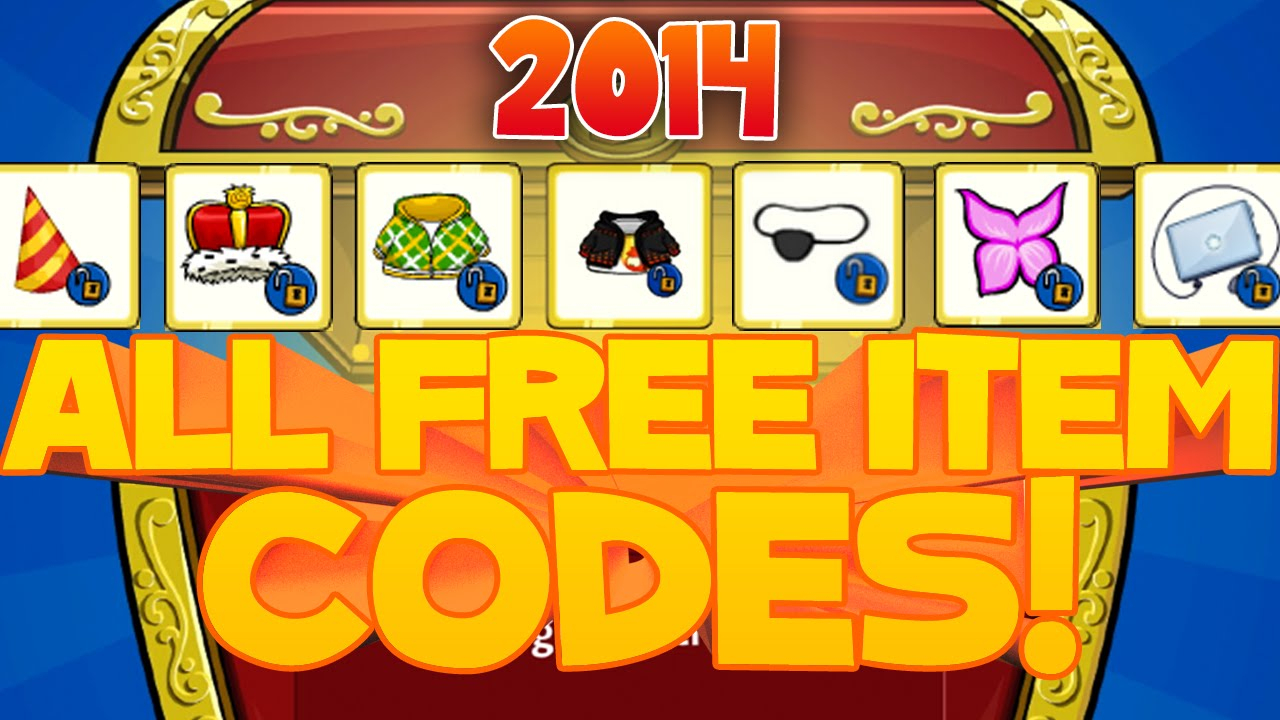 Club Penguin Codes - Free Items, Igloo Items And Puffle Hats 2015