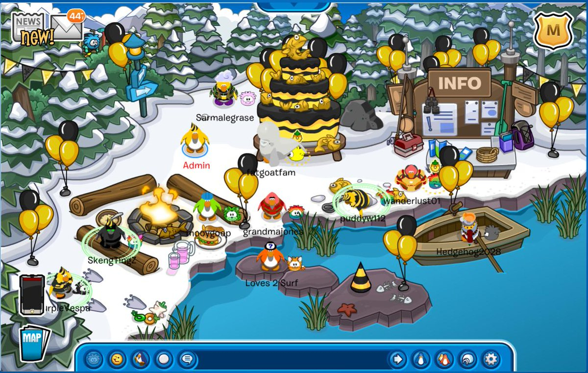 """Club Penguin Online On Twitter: """"the 3 Million Party Is Now"""