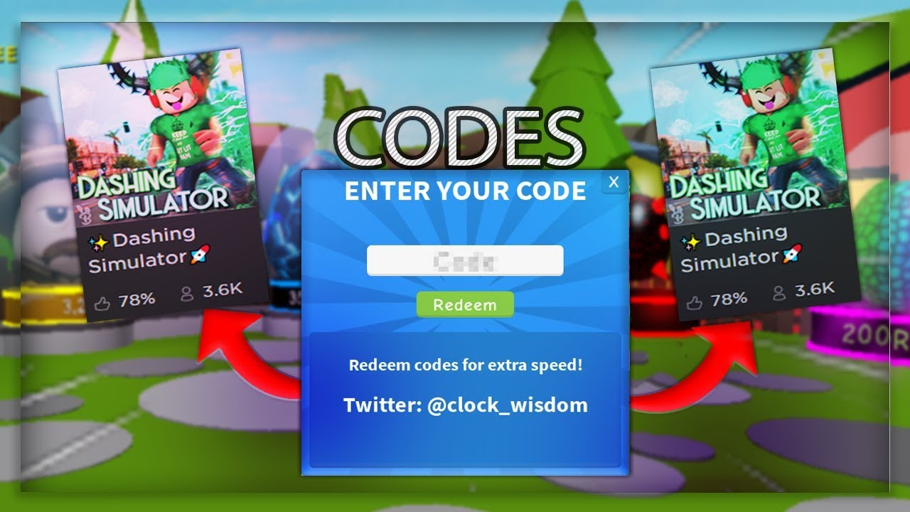 *new* ✨Dashing Simulator🚀 Codes! (Roblox)