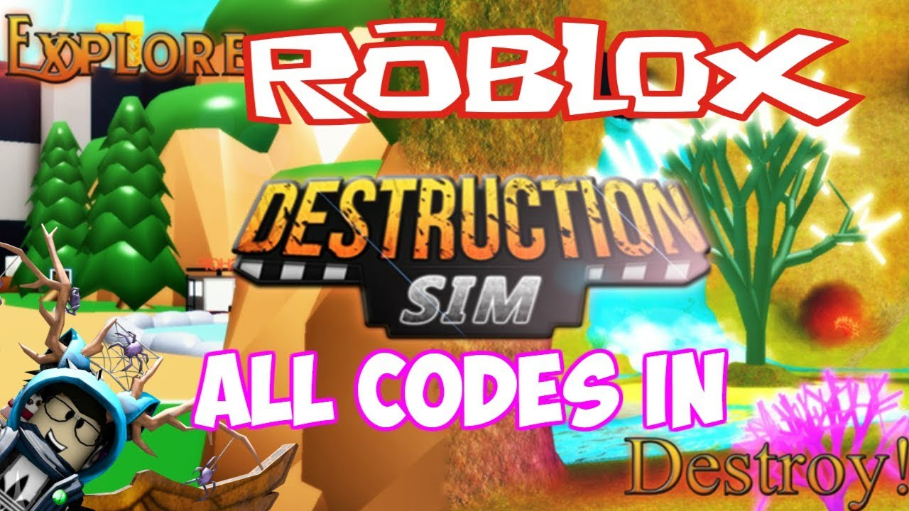 *july 2019* All Codes In ⛏ Destruction Simulator ⛏Discord