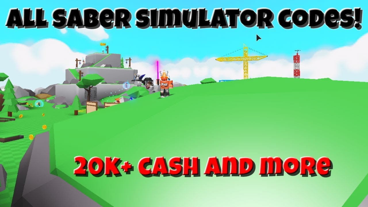 *october 2019* All Working Saber Simulator Codes | Roblox