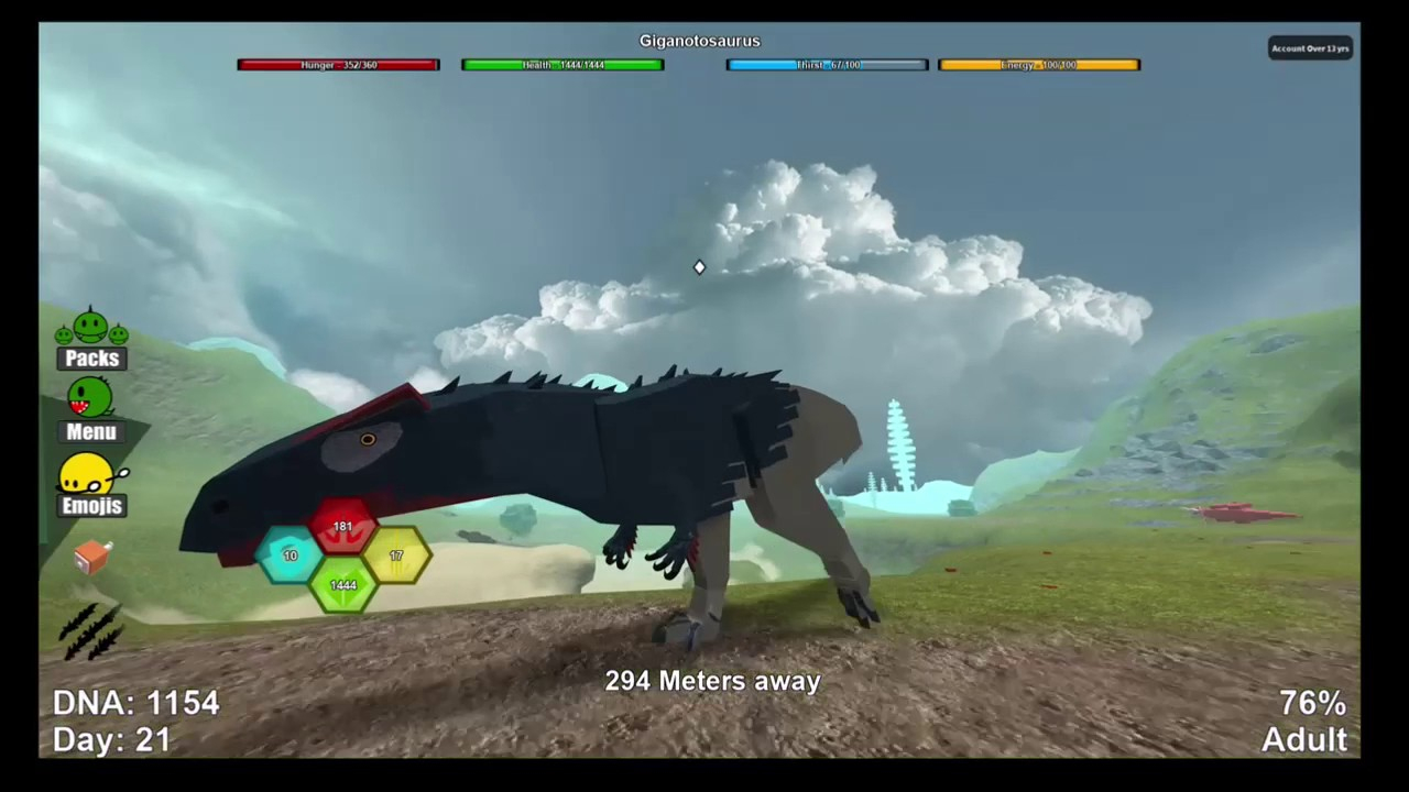 Roblox Dino Sim #37 - Eldering The Giganotosaurus!!! - Youtube