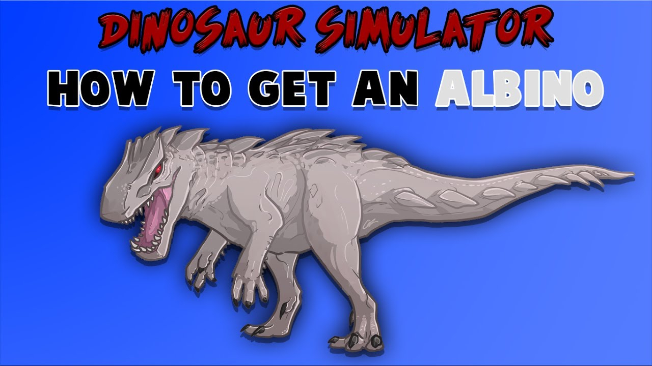Roblox Dinosaur Simulator - How To Get An Albino Terror!