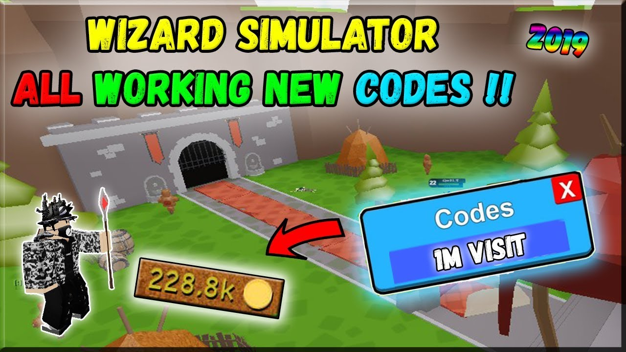 Wizard Simulator All New Codes !!? ( August 2019 ) / Roblox