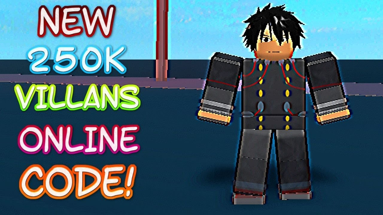 *new* 250K Villains Online Code! (November  2019) - Roblox Codes