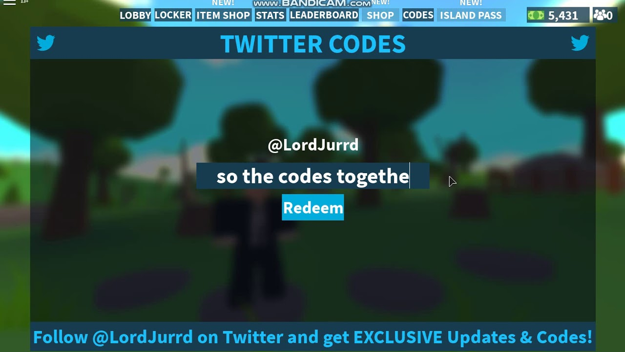 2 New Codes In Island Royale Roblox!!! New Update!! February