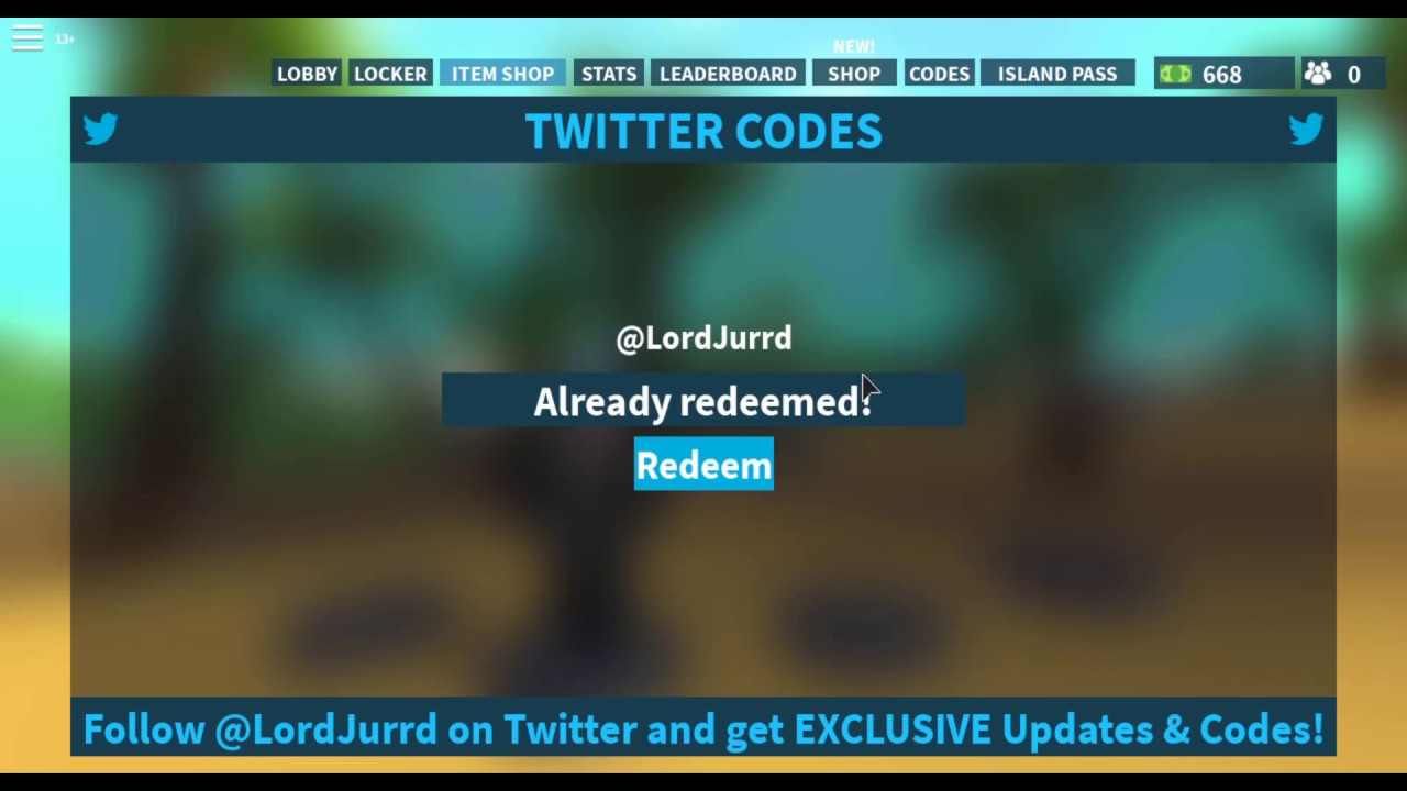 2 New Codes New Spy!!! Island Royale Update!!