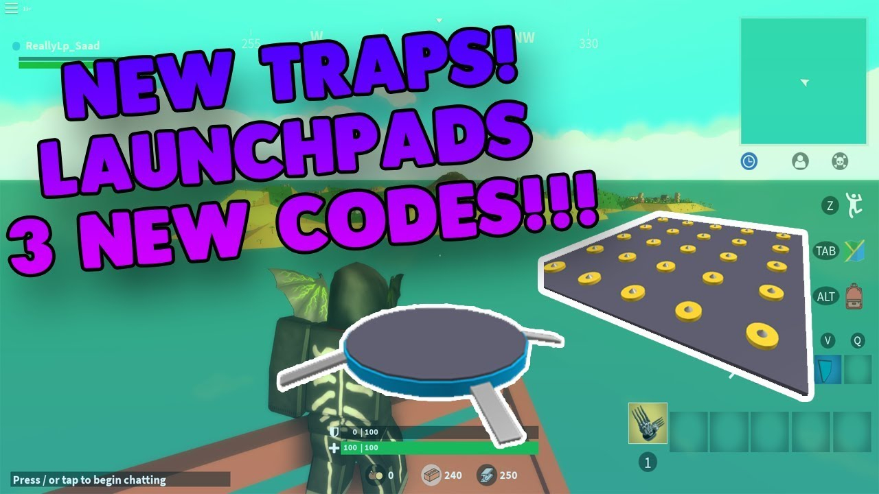 3 New Codes😱new Traps🔥launch Pads😱island Royale🏝️roblox