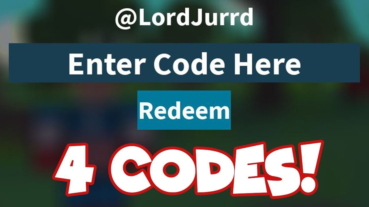 (Expired)*new* 4 Island Royale Codes | (September 2018) Roblox