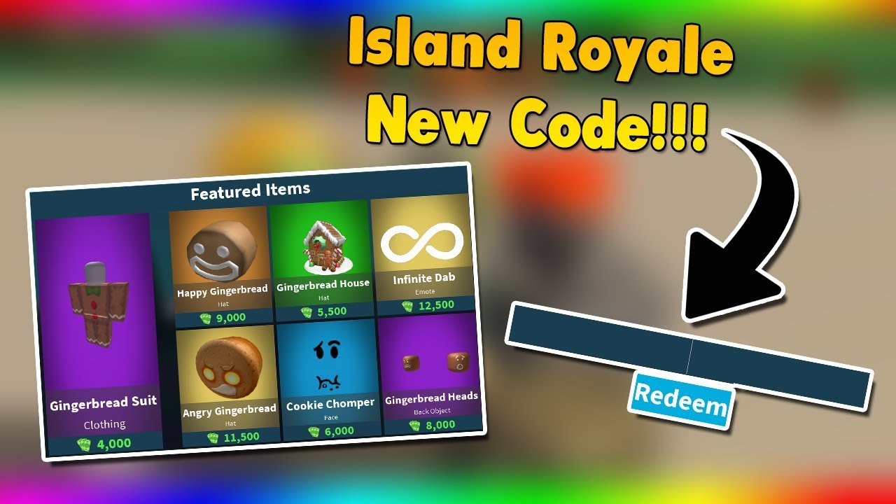 *new 5K Bucks Code* New Item | Island Royale Roblox