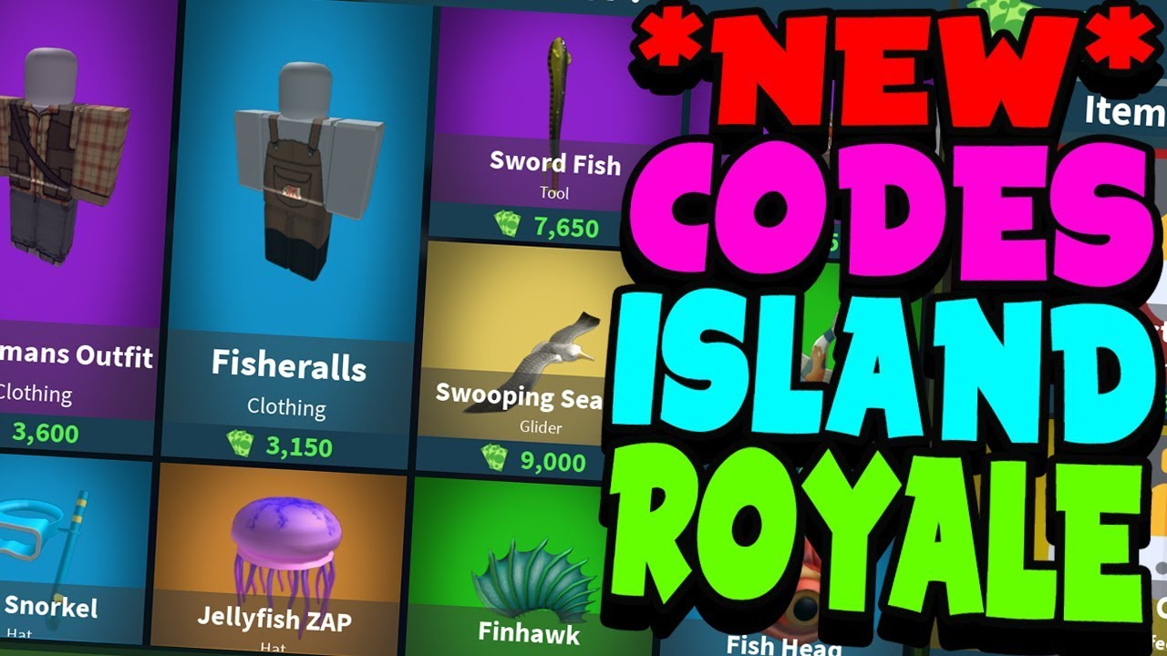 *new* Codes On Island Royale! (All Codes September!)