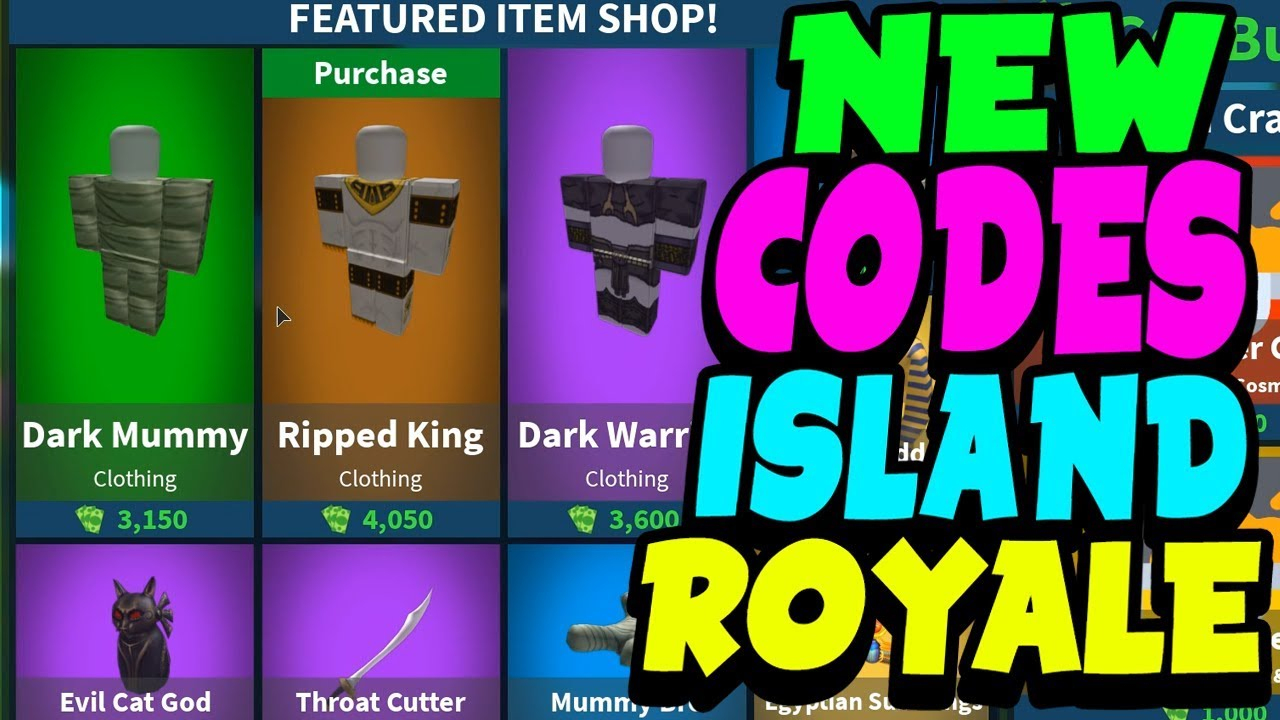 *new* Codes On Island Royale! (March 2019)