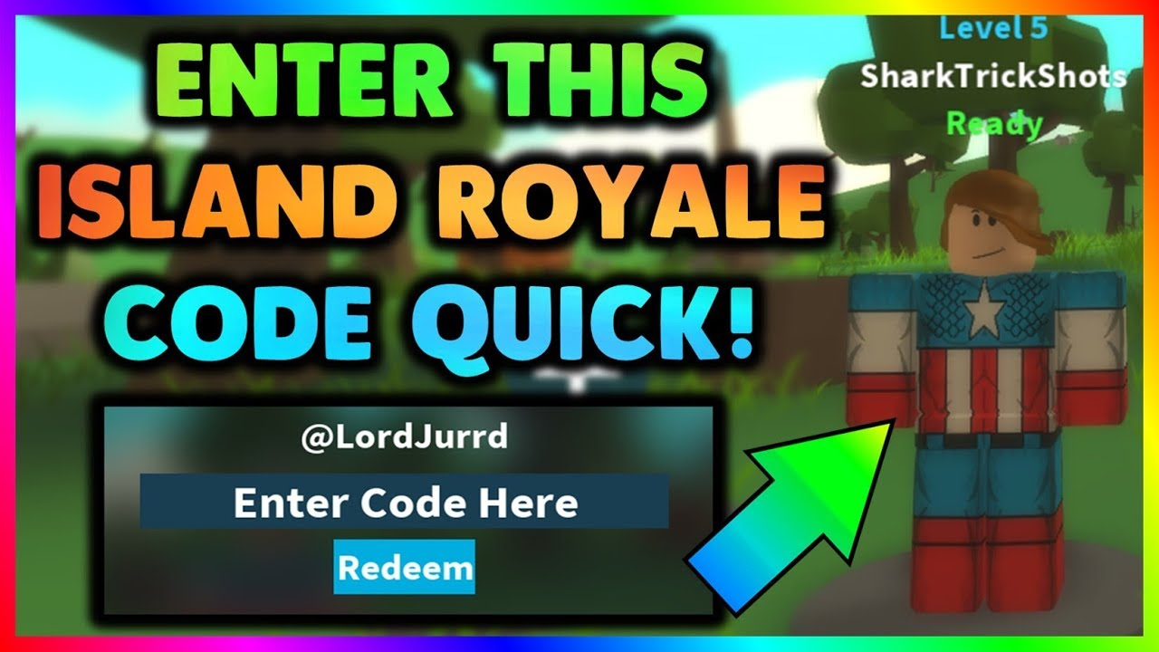 New! Island Royale Code! *redeem Code* (Roblox)