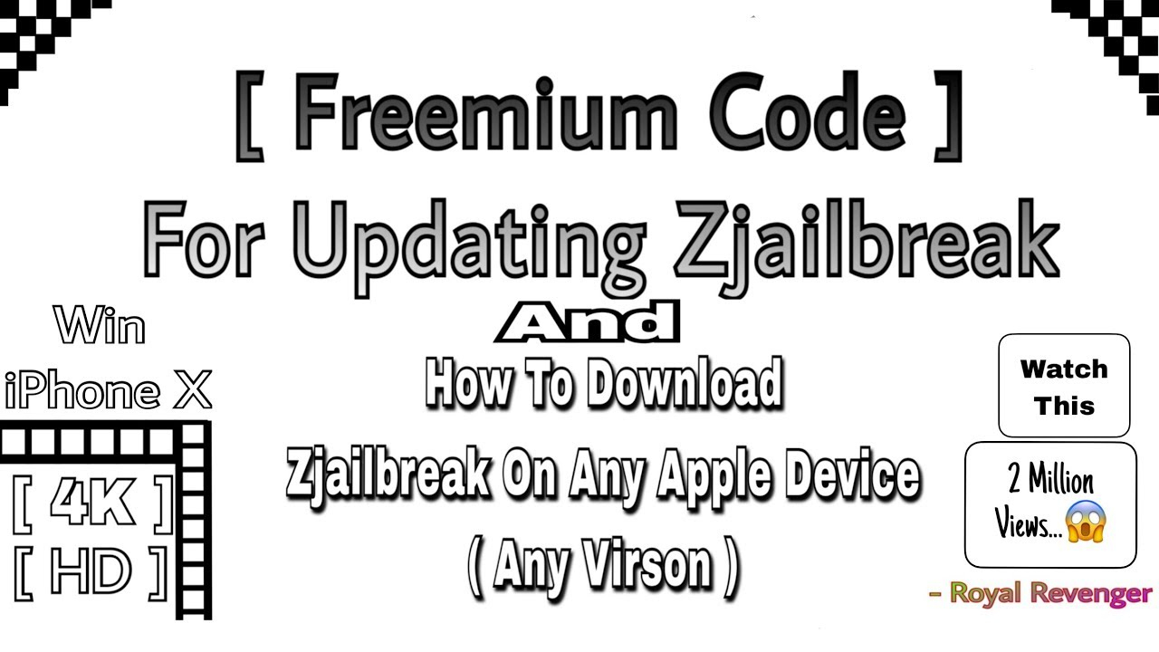 How To Downlod Zjailbreak For Iphone,ipad,ipod & Any Idivice