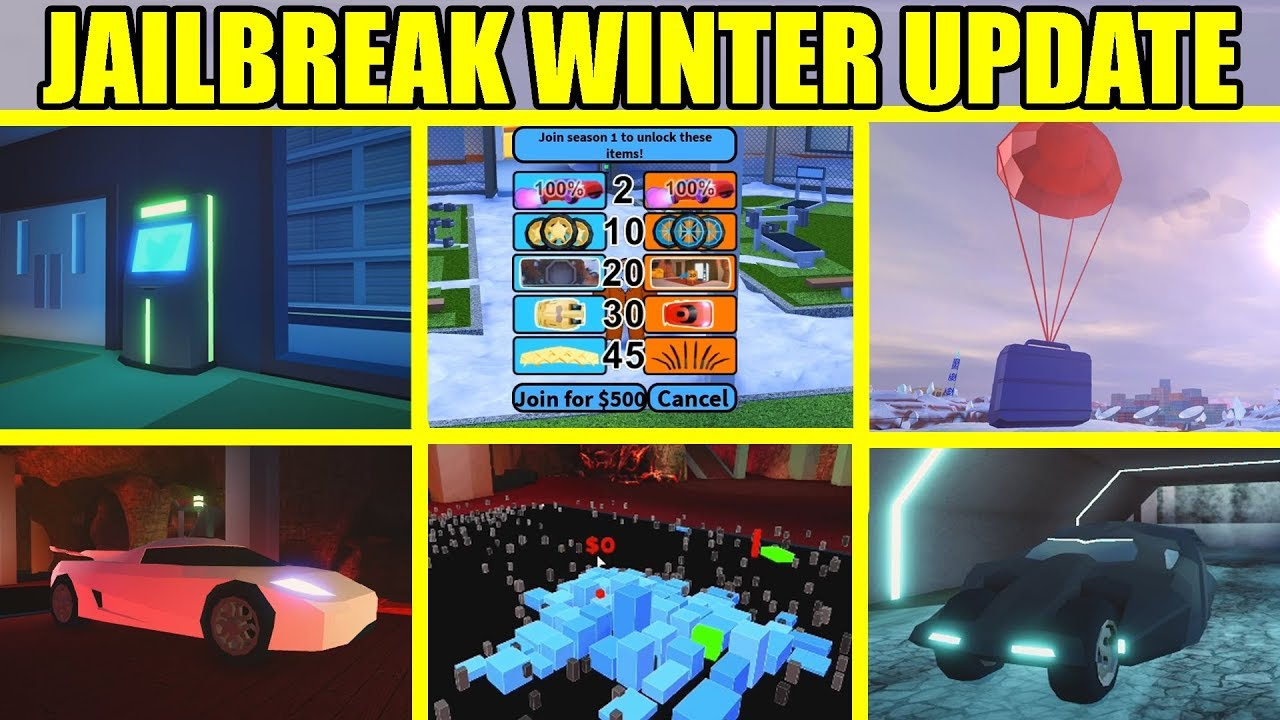 Jailbreak Winter Update Is Here!!! | Codes, Levels, New Bases | Roblox  Jailbreak