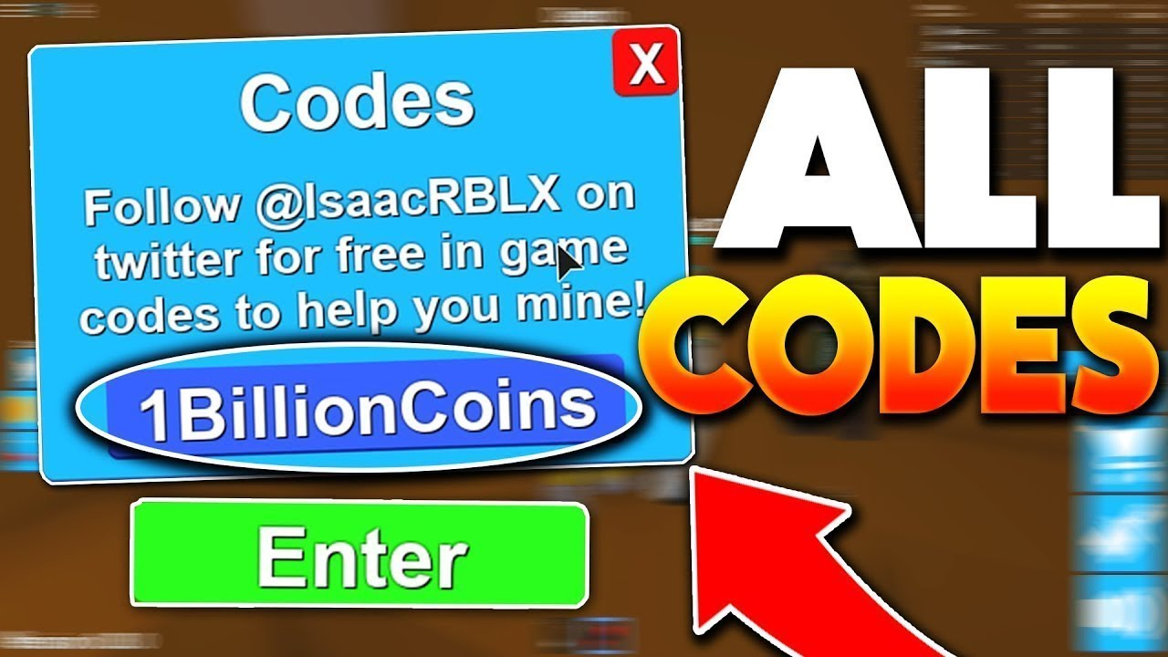 100 Million Roblox Mining Simulator Legendary Codes! *only