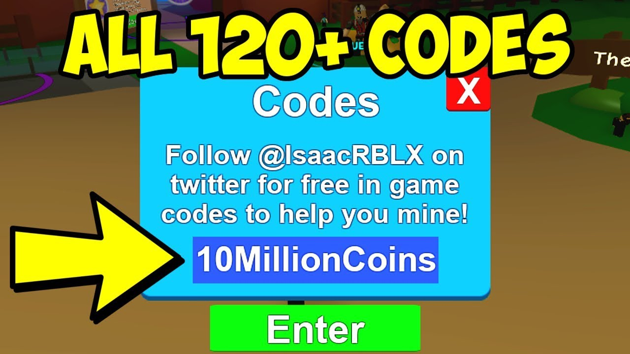 (120+ Codes) All Roblox Mining Simulator Codes 2019 - Roblox Mining  Simulator Hacks